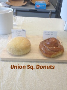 Union square donuts in Somerville.  Now at 16 Bow St. in Somerville.