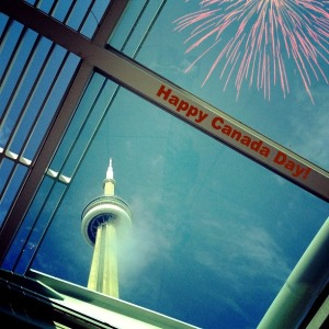 CN Tower Canada Day