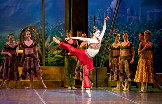 Lia Cirio in Boston Ballet's La Bayadère by Gene Schiavone