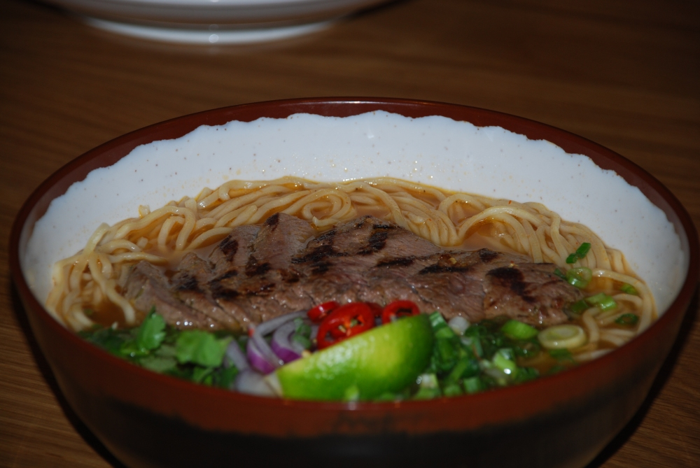Winter is here and this is the perfect winter dish.  Comforting and healthy.  Soul food from Wagamama.