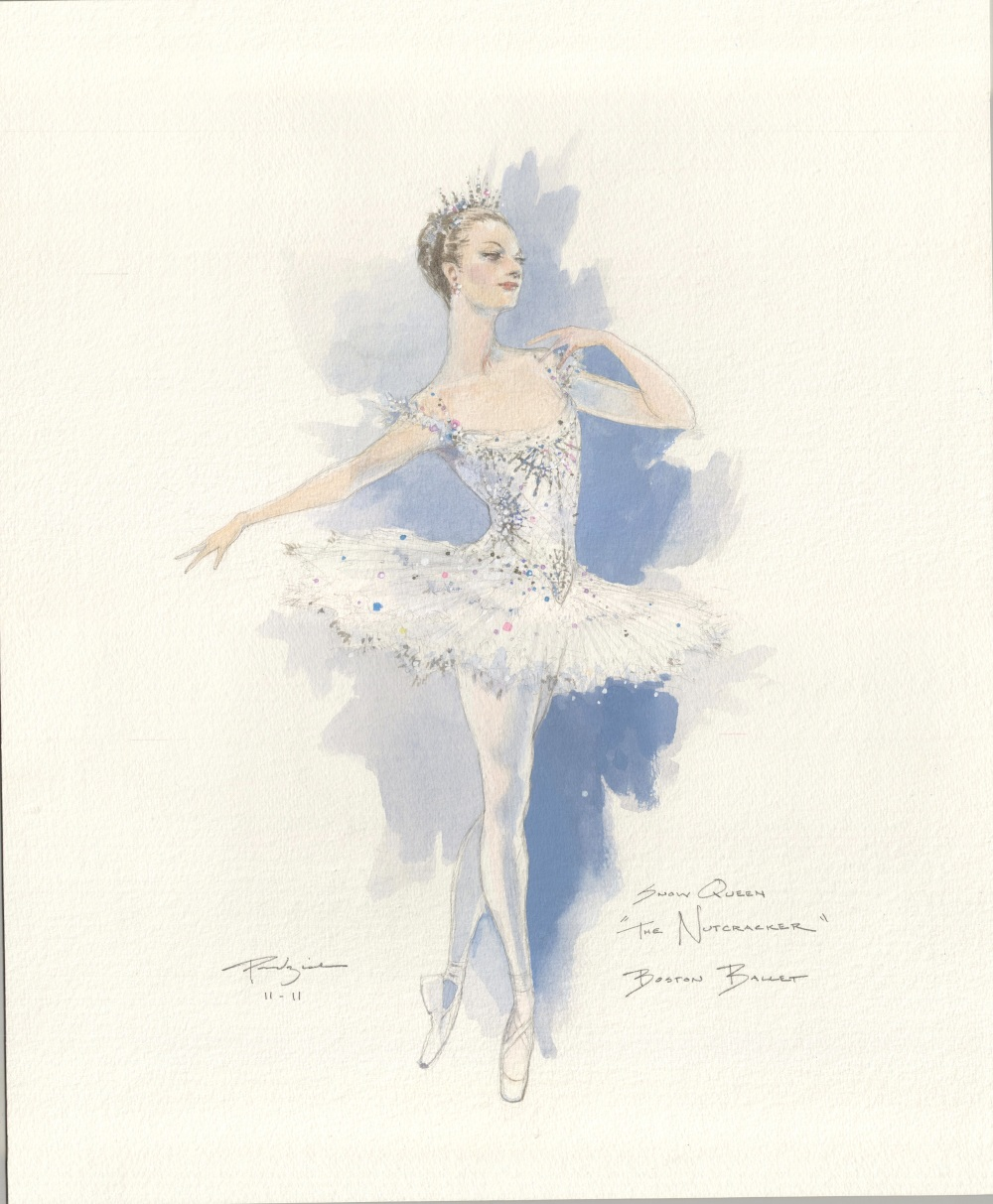 Illustrations by Robert Perdziola courtesy of Boston Ballet