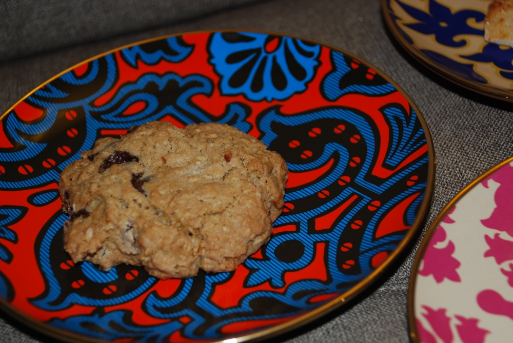 These cookies tasted like they were made at home.  Not too sweet.  Just right.