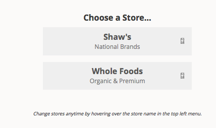 Choose a store.  I look forward to when this list grows a bit more, but for now it covers the basics.