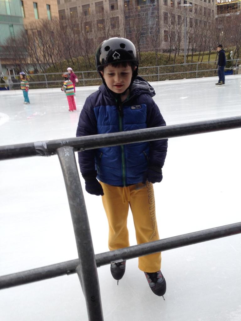 Skating at Kendall