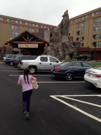 Great Wolf Lodge New England was finally opening, so we grabbed our bags and decided to join the wolf pack for a day.