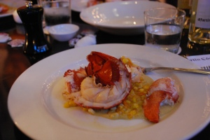 Lobster at Row 34