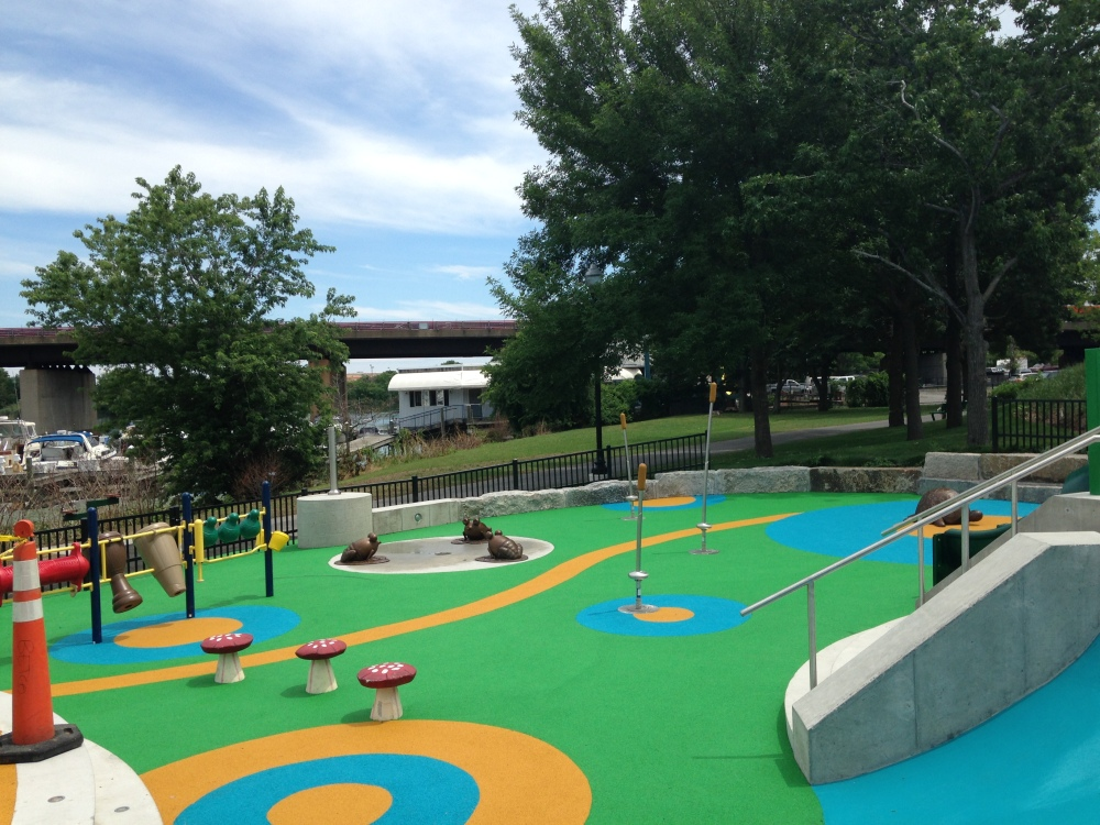 Playground at Assembly Row.