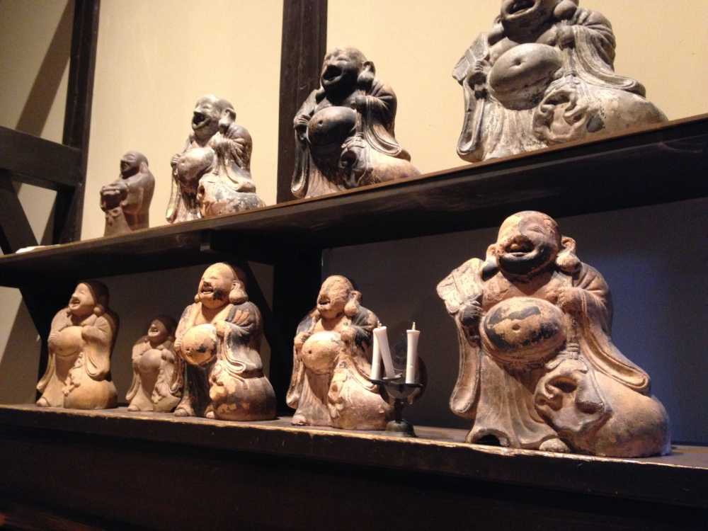 Buddhas at the Japan House