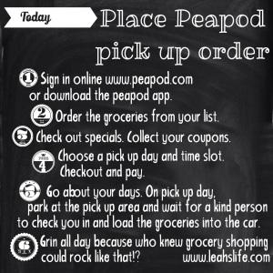 Peapod Pick Up Service
