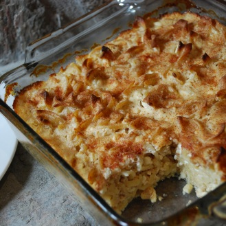 Classic comfort food. Noodle Kugel is the Jewish version of a bread pudding. A dish for all seasons.