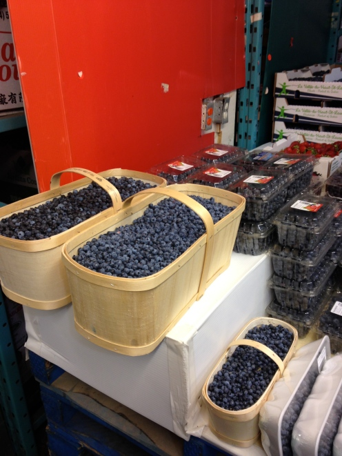 Blueberries upon blueberries.