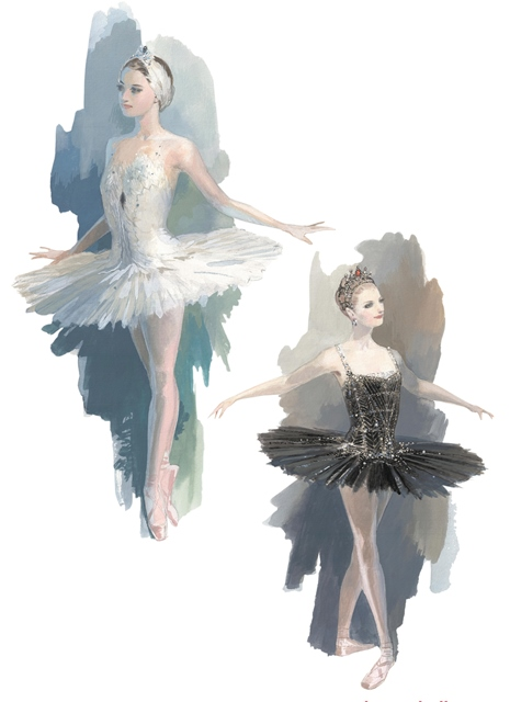 Design and rendering by Robert Perdziola courtesy of Boston Ballet