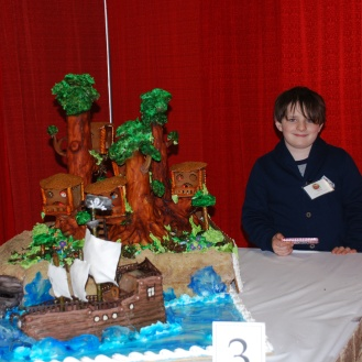 This was Henry's favourite and it was made by Davio's Lynnfield. It won Kids' Choice and Most Creative.