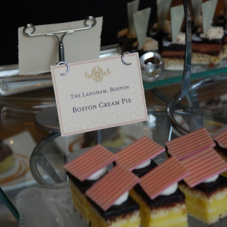 The iconic Boston cream pie of course!