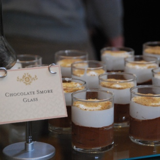 S'mores in a glass - the most elegant s'mores I've ever seen.
