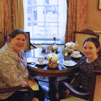 Here we are being fancy at The Taj for tea. I cannot wait to go back with my mom.