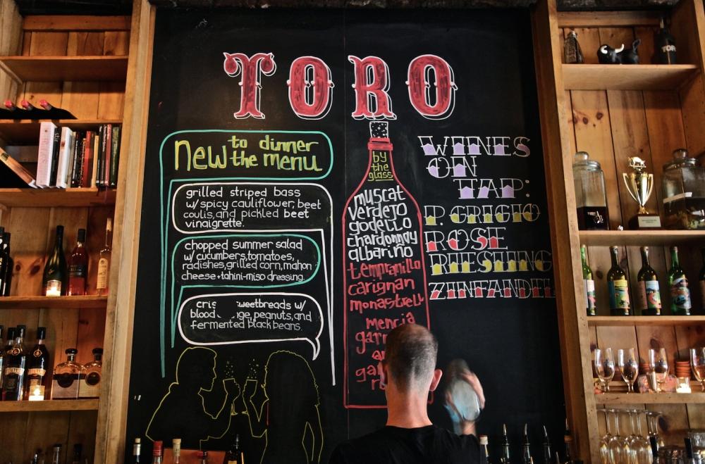 Toro chalkboard_Hilary O'Rourke