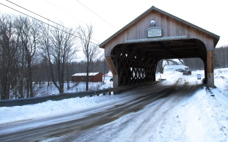 Covered Bridge entrance at The Hermitage Inn.