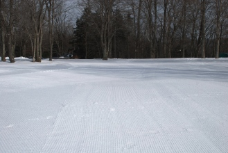 Corduroy everywhere you look and all day long from dawn to dusk.