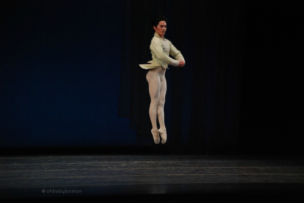Principal Jeffrey Cirio in Balanchine's Theme and Variations.