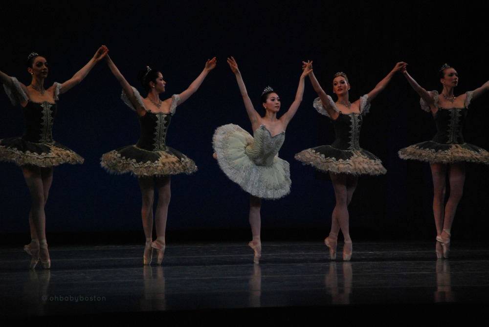 Principal Misa Kuranaga in Balanchine's Theme and Variations.