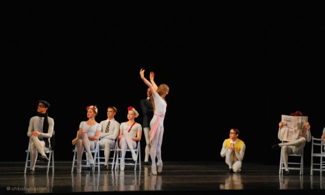 The Concert choreographed by Jerome Robbins has the audience laughing out loud throughout the piece.