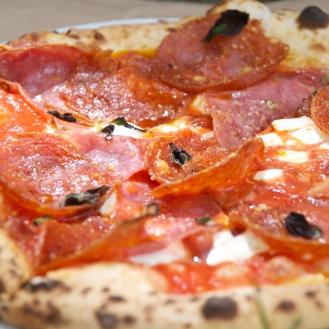 Posto's pepperoni pizza.