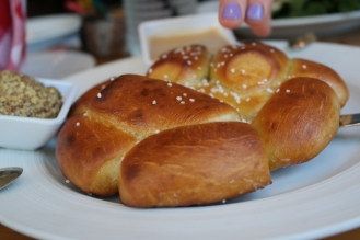 Crave-worthy pretzels to share.