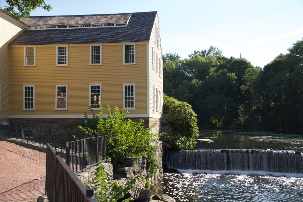 Slater Mill in Pawtucket, Rhode Island