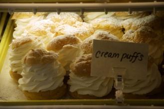 Wright's farm's famous cream puffs.