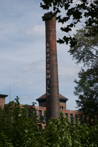 One of the old mills that is now housing.