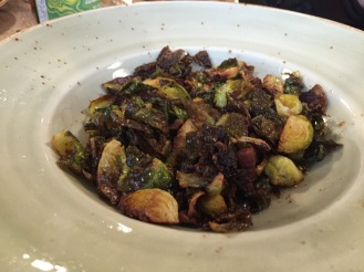 These Brussels Sprouts were incredible. Perhaps a tad on the greasy side, but the lamb bacon and crispy leaves allowed me to overlook that.