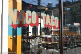 Naco Taco in Central Square, Cambridge, MA.