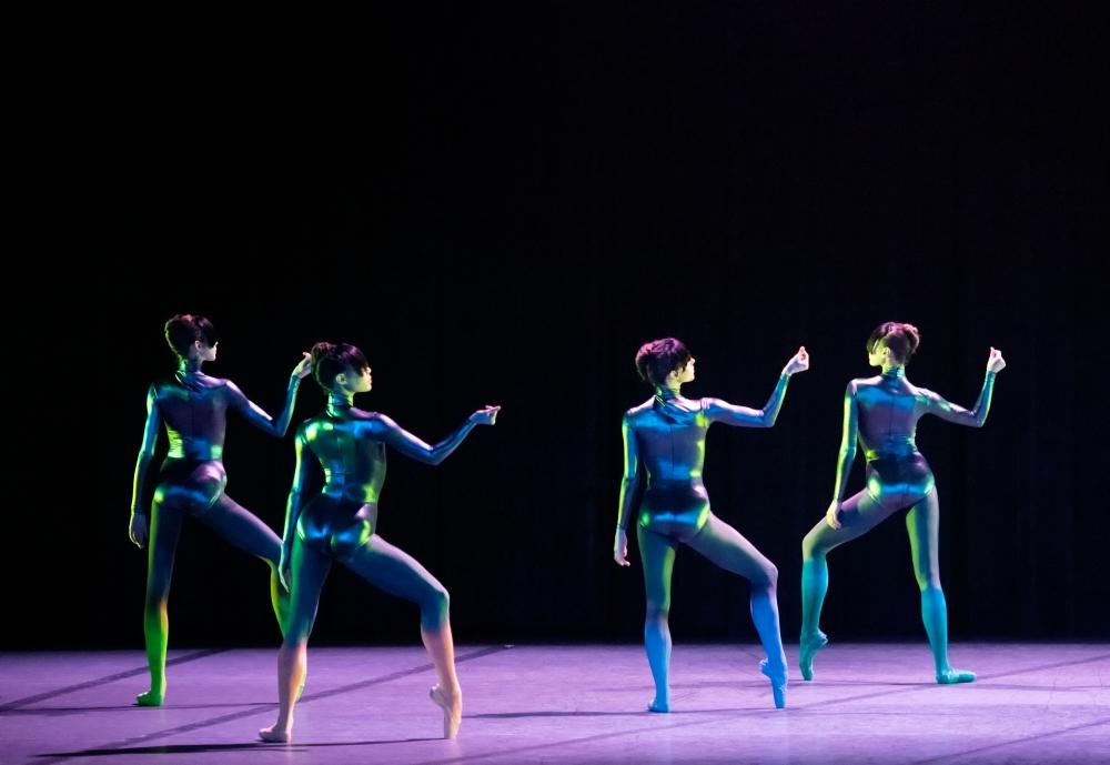 Boston Ballet in Karole Armitage's Bitches Brew; photo by Gene Schiavone, courtesy Boston Ballet