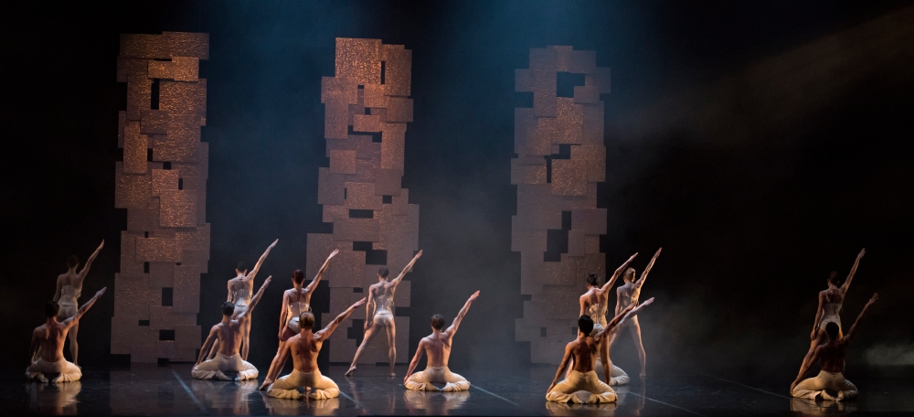 Boston Ballet in Yury Yanowsky's Smoke and Mirrors; photo by Gene Schiavone, courtesy Boston Ballet