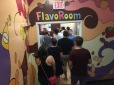 The FlavoRoom is where the tasting happens. It is where we all discovered a new favorite: Strawberry Cheesecake.