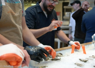 Island Creek Oysters from Duxbury