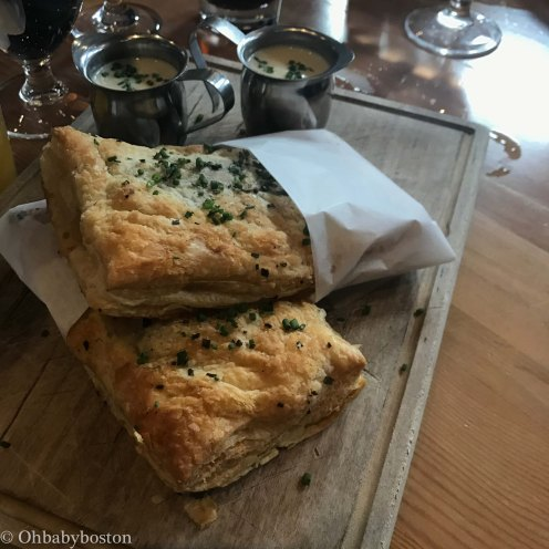 These hot pockets were a popular starter. Try one and share it with friends. Definitely worth a taste.