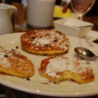 Breakfast at ArtBar at the Royal Sonesta hotel. The Royal Sonesta does a great job making families feel like VIPs.