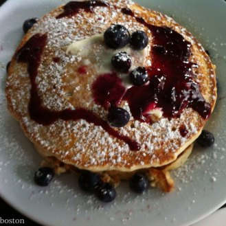 No longer around, but still pretty to look at M3's pancakes were crave-worthy as were so many of their dishes.