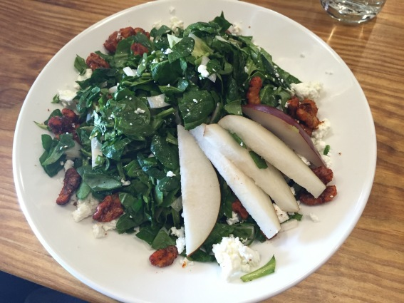 Delicious salad at Jack's Abbey in Framingham.