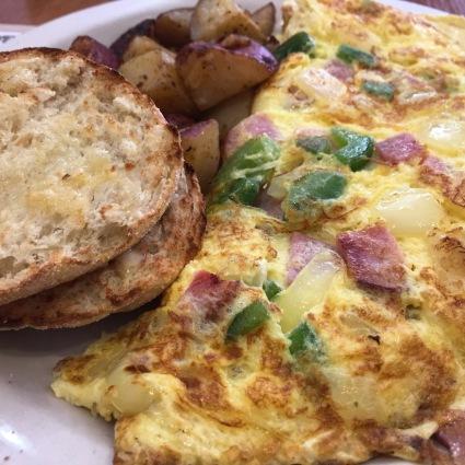 Breakfast at Frescafé in Natick.