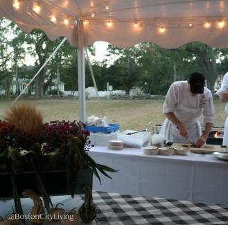 Chef Stephen Sherman at work.