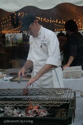 Red Oak Tavern's Chef Stephen Sherman at work.