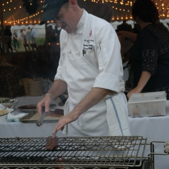 Red Oak Tavern's Chef Stephen Sherman at work.